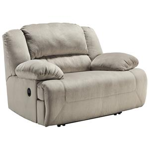 Signature Design by Ashley Toletta - Granite Zero Wall Wide Seat Recliner