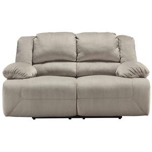 Signature Design by Ashley Toletta - Granite Reclining Power Loveseat