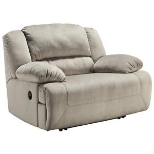Signature Design by Ashley Toletta - Granite Wide Seat Power Recliner