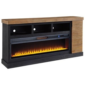 XL TV Stand with Fireplace