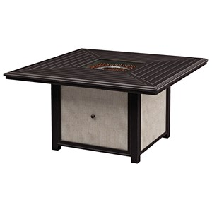 Signature Design by Ashley Town Court Square Fire Pit Table