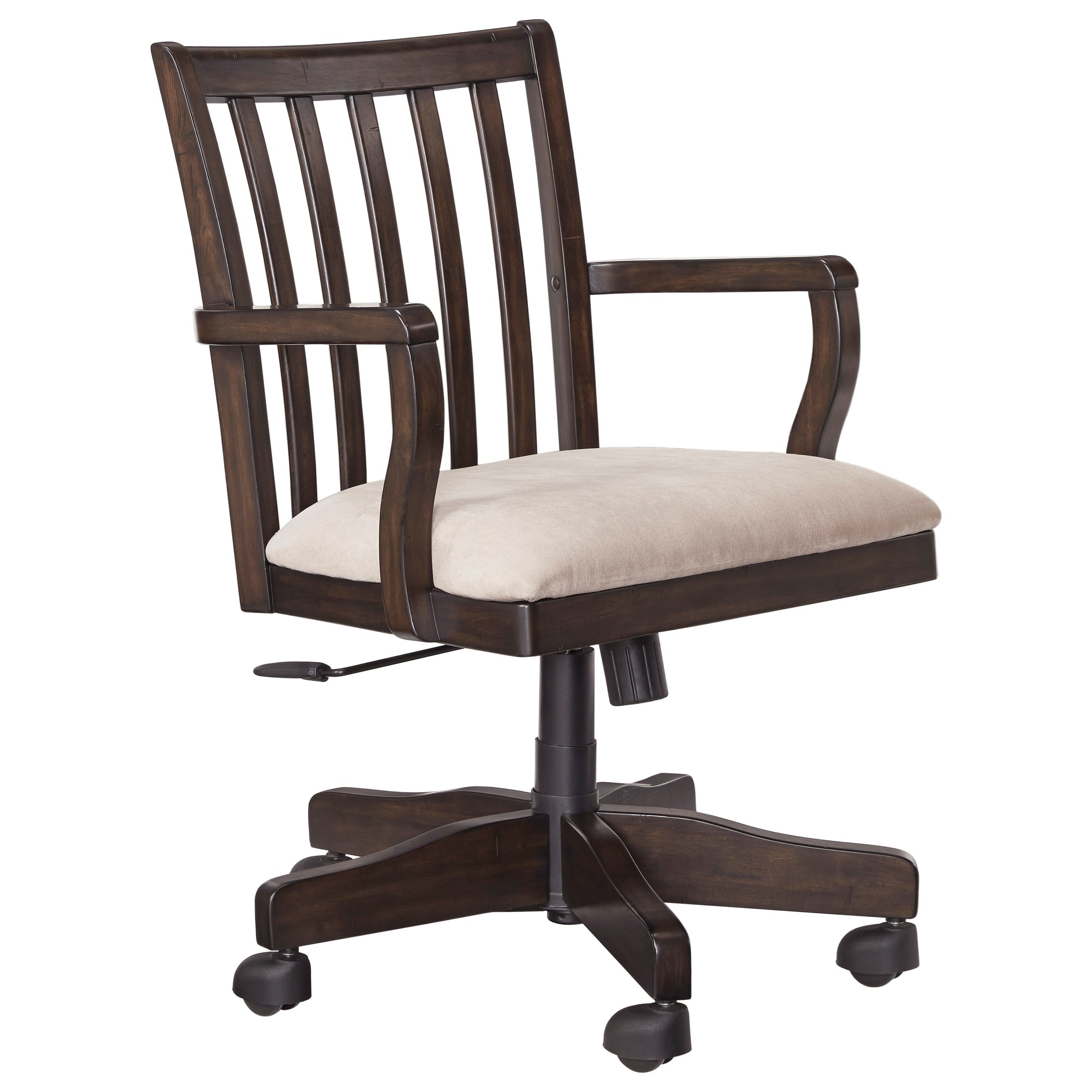 Signature Design By Ashley Townser Home Office Swivel Desk Chair Furniture And Appliancemart