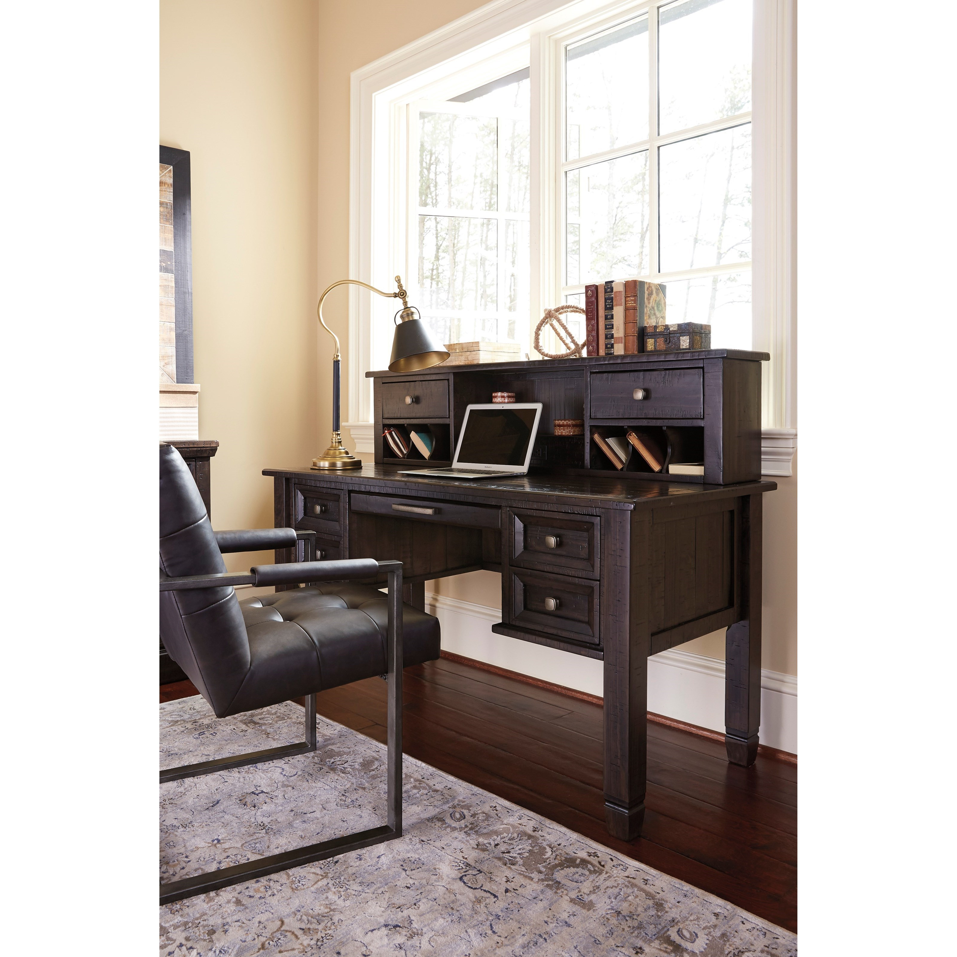 Signature Design By Ashley Townser Solid Pine Home Office