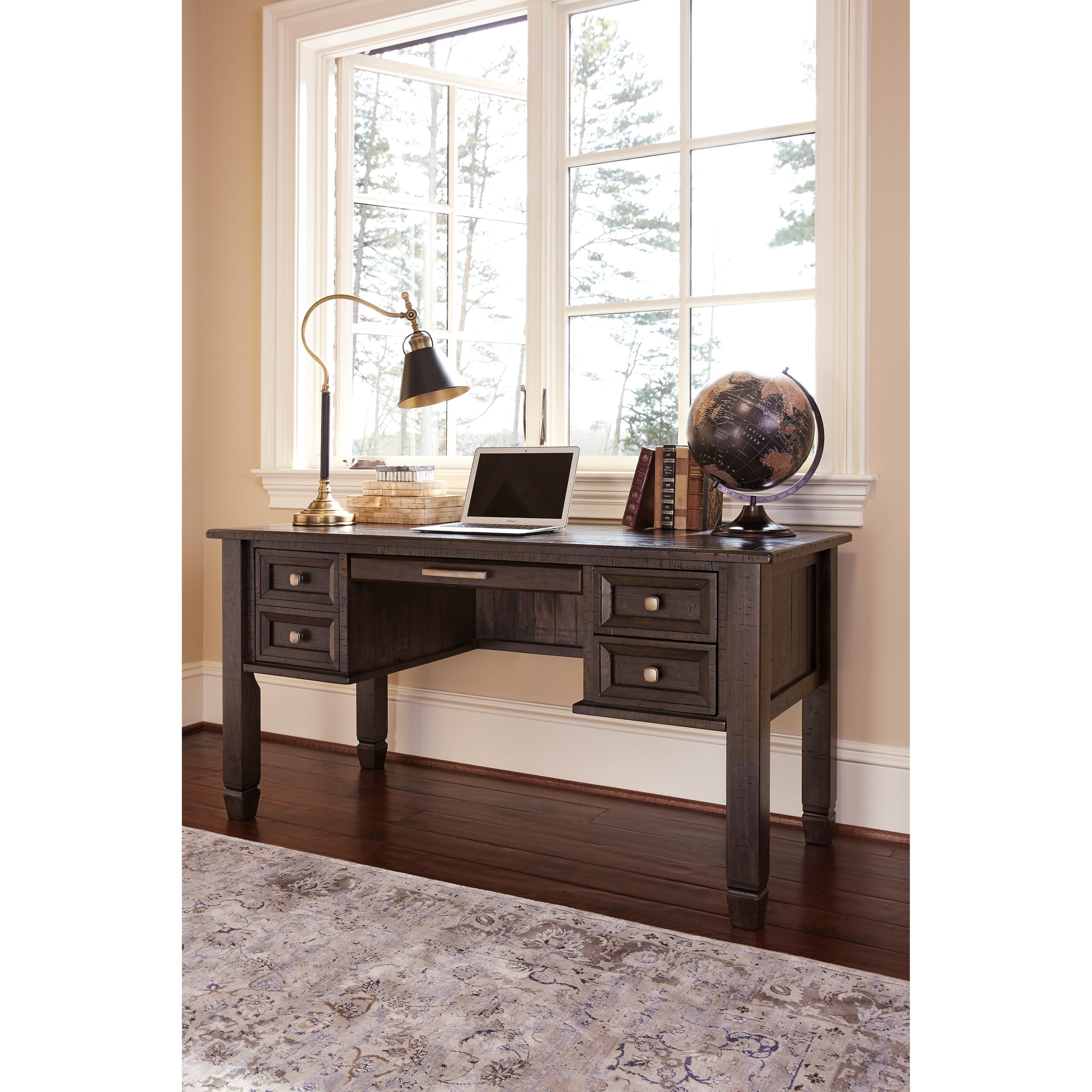 Ashley Furniture Office Desk: Signature Design By Ashley Townser H636-27 Solid Pine Home