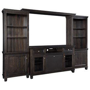 Ashley Signature Design Townser Entertainment Center w/ Large Speaker