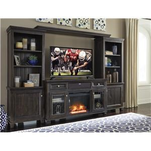 Entertainment Center W Fireplace