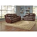 Signature Design by Ashley Transister Reclining Living Room Group - Item Number: 51302 Living Room Group 1