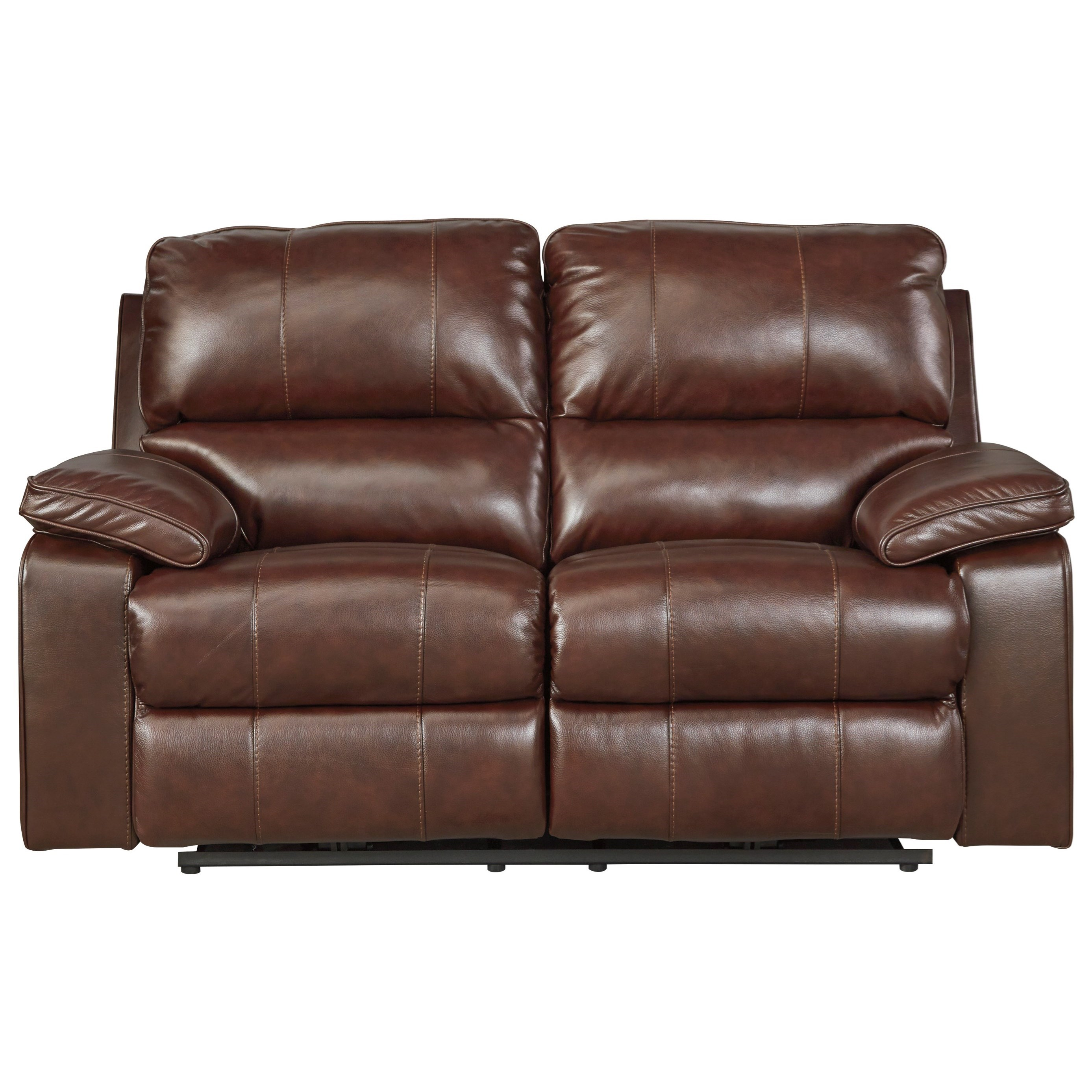 Signature Design by Ashley Transister Power Reclining Loveseat w/ Adj. Headrest - Item Number: 5130214