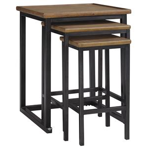 Signature Design by Ashley Traxmore Nesting End Tables