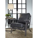 Signature Design by Ashley Trebbin Casual Accent Chair with Loose Cushions