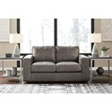 Signature Design by Ashley Trembolt Contemporary Loveseat