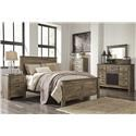 Signature Design by Ashley Trinell Queen Panel Bed Package - Item Number: 576544689