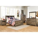 Signature Design by Ashley Trinell Full Bedroom Group - Item Number: B446 F Bedroom Group 12