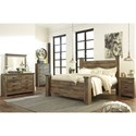 Signature Design by Ashley Trinell King Bedroom Group - Item Number: B446 K Bedroom Group 6
