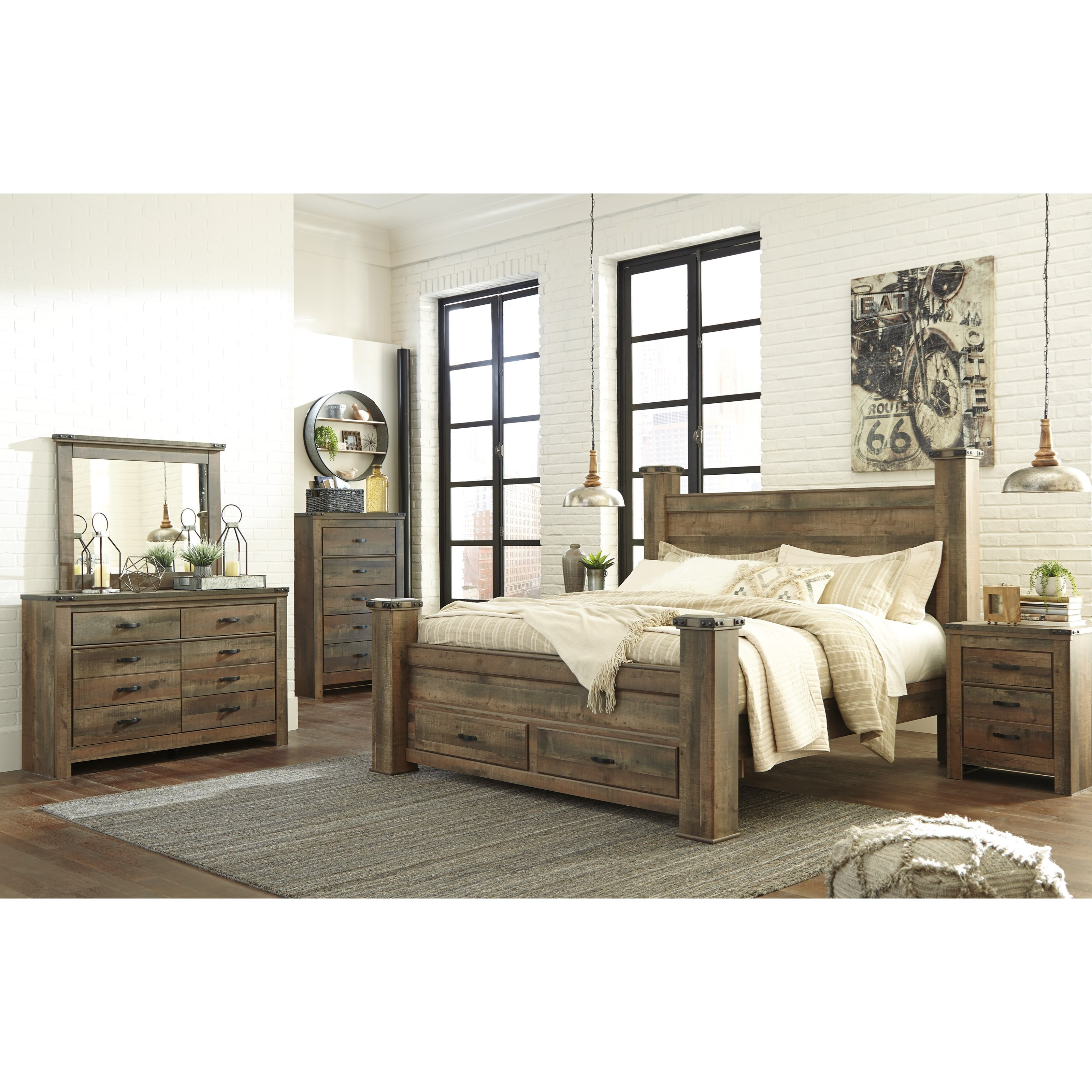 Trinell King Bedroom Group by Signature Design by Ashley at Value City Furniture