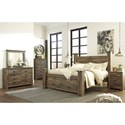 Ashley (Signature Design) Trinell King Bedroom Group - Item Number: B446 K Bedroom Group 7