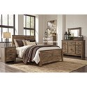Signature Design by Ashley Trinell King Bedroom Group - Item Number: B446 K Bedroom Group 10