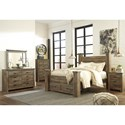 Signature Design by Ashley Trinell Queen Bedroom Group - Item Number: B446 Q Bedroom Group 7
