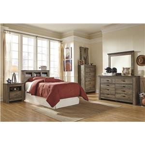 Signature Design by Ashley Trinell Twin Bedroom Group