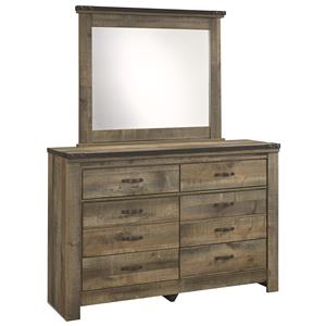Ashley (Signature Design) Trinell Youth Dresser & Bedroom Mirror