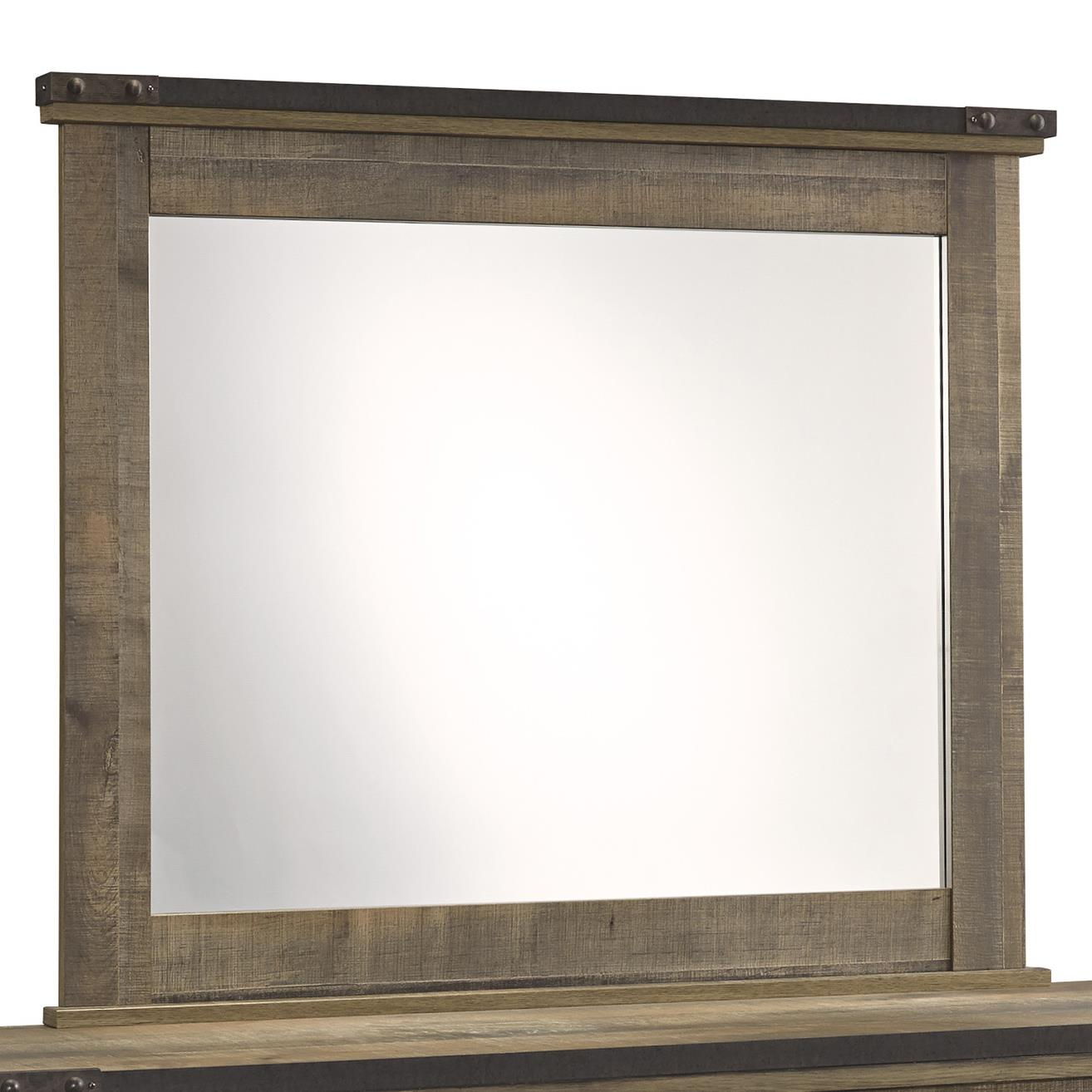 Signature Design by Ashley Trinell Bedroom Mirror - Item Number: B446-26
