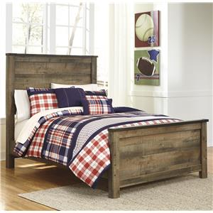 Ashley Signature Design Trinell Full Panel Bed