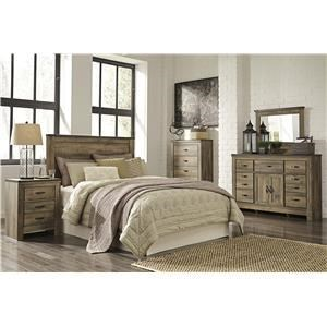 Signature Design by Ashley Furniture Trinell Queen Bedroom Group