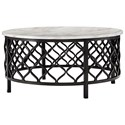 Signature Design by Ashley Trinson Round Cocktail Table - Item Number: T691-8