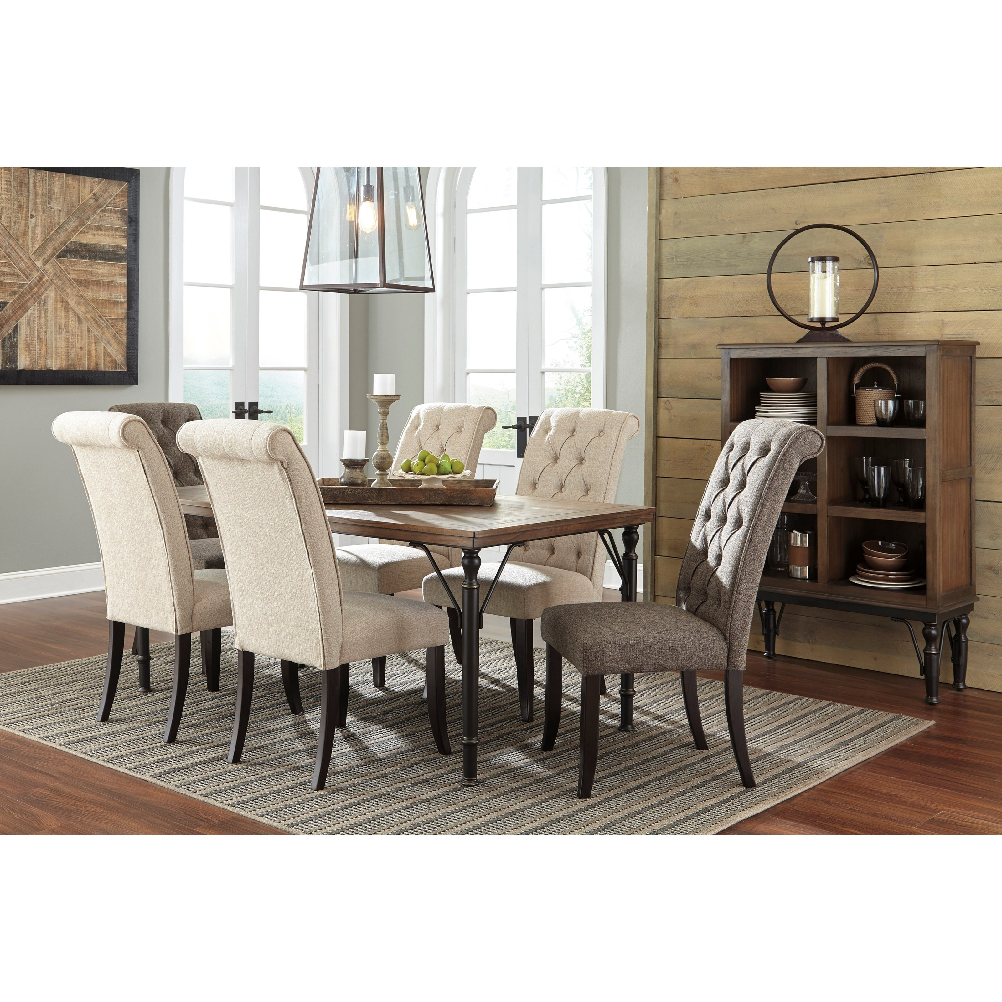 Tripton Extra Large Dining Bench: Signature Design By Ashley Tripton Dining Upholstered Side
