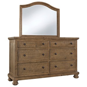 Signature Design by Ashley Trishley Dresser & Bedroom Mirror