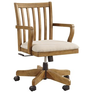 Ashley Signature Design Trishley Home Office Swivel Desk Chair