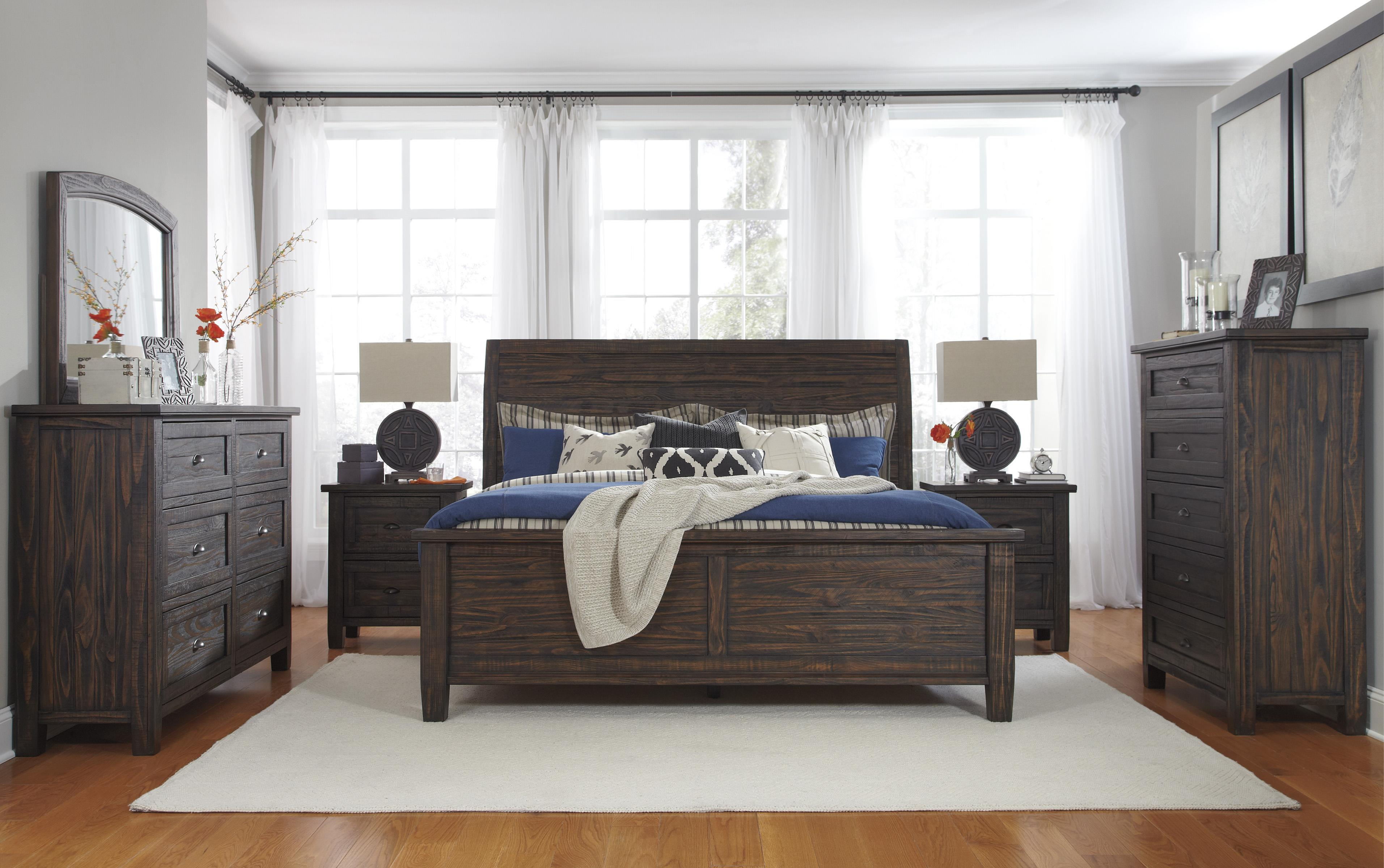 Signature Design by Ashley Trudell King Bedroom Group - Item Number: B658 K Bedroom Group 1
