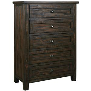 Signature Design by Ashley Trudell Five Drawer Chest