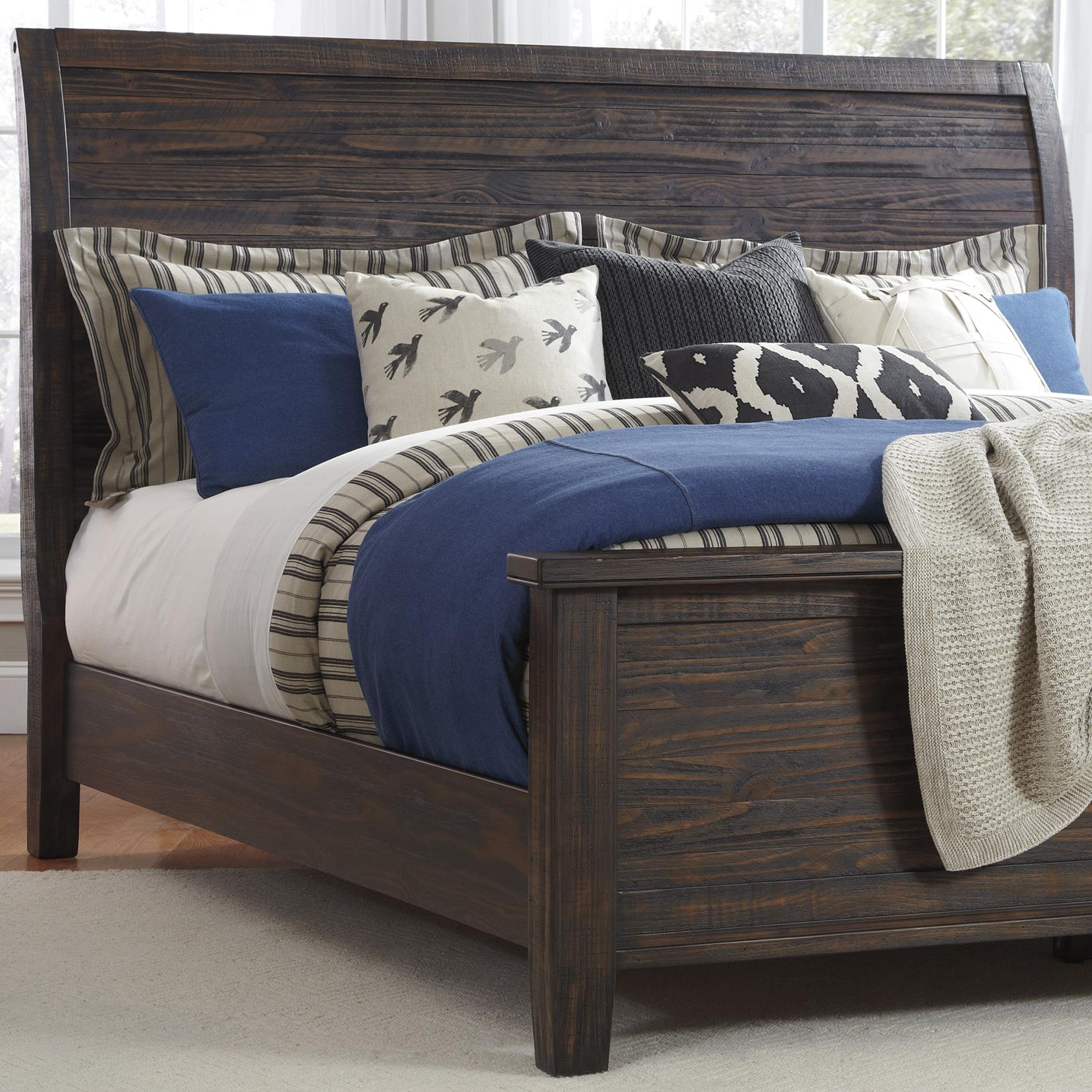 Signature Design by Ashley Trudell Queen Panel Headboard - Item Number: B658-57