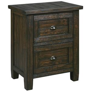 Signature Design by Ashley Trudell Two Drawer Night Stand