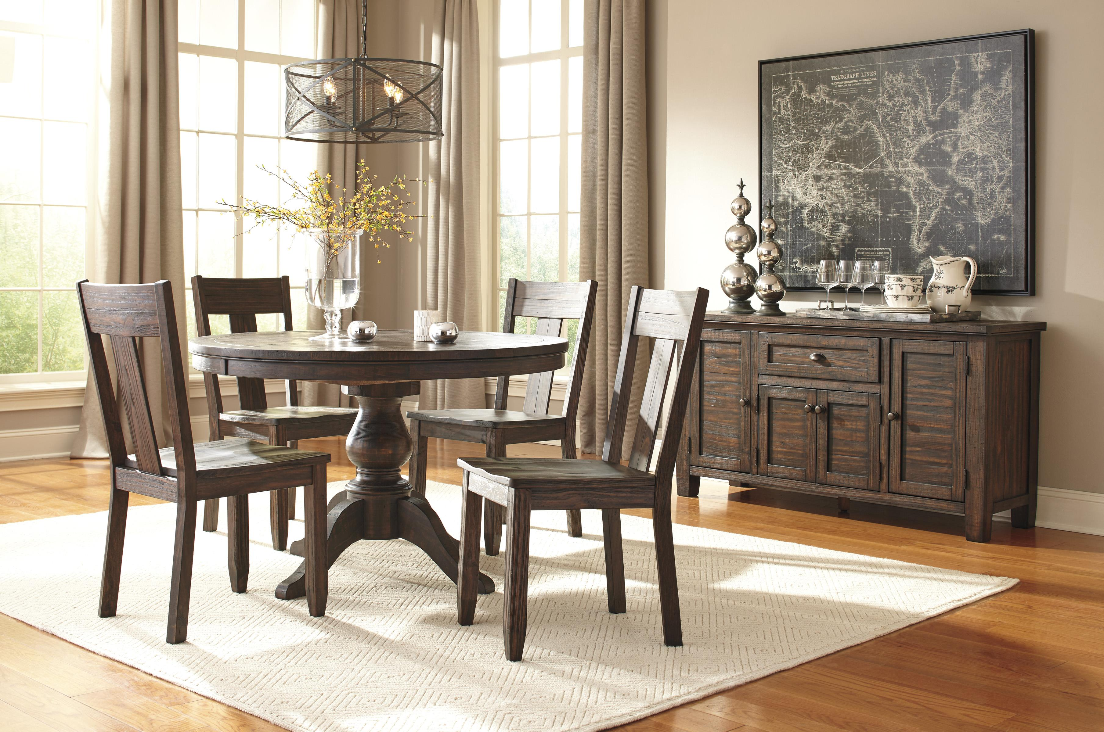 Signature Design by Ashley Trudell Casual Dining Room Group - Item Number: D658 Dining Room Group 1