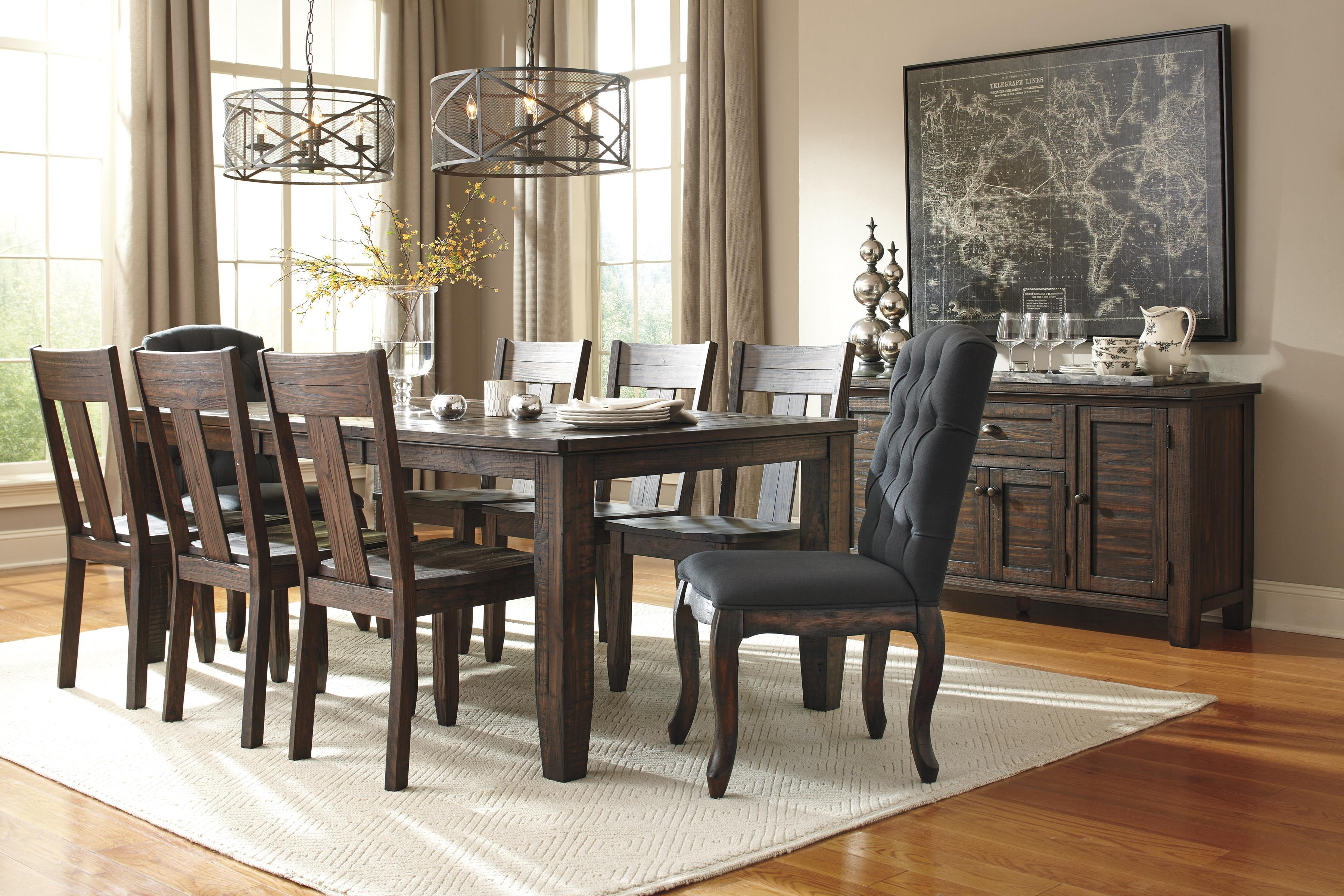 Signature Design by Ashley Trudell Formal Dining Room Group - Item Number: D658 Dining Room Group 10
