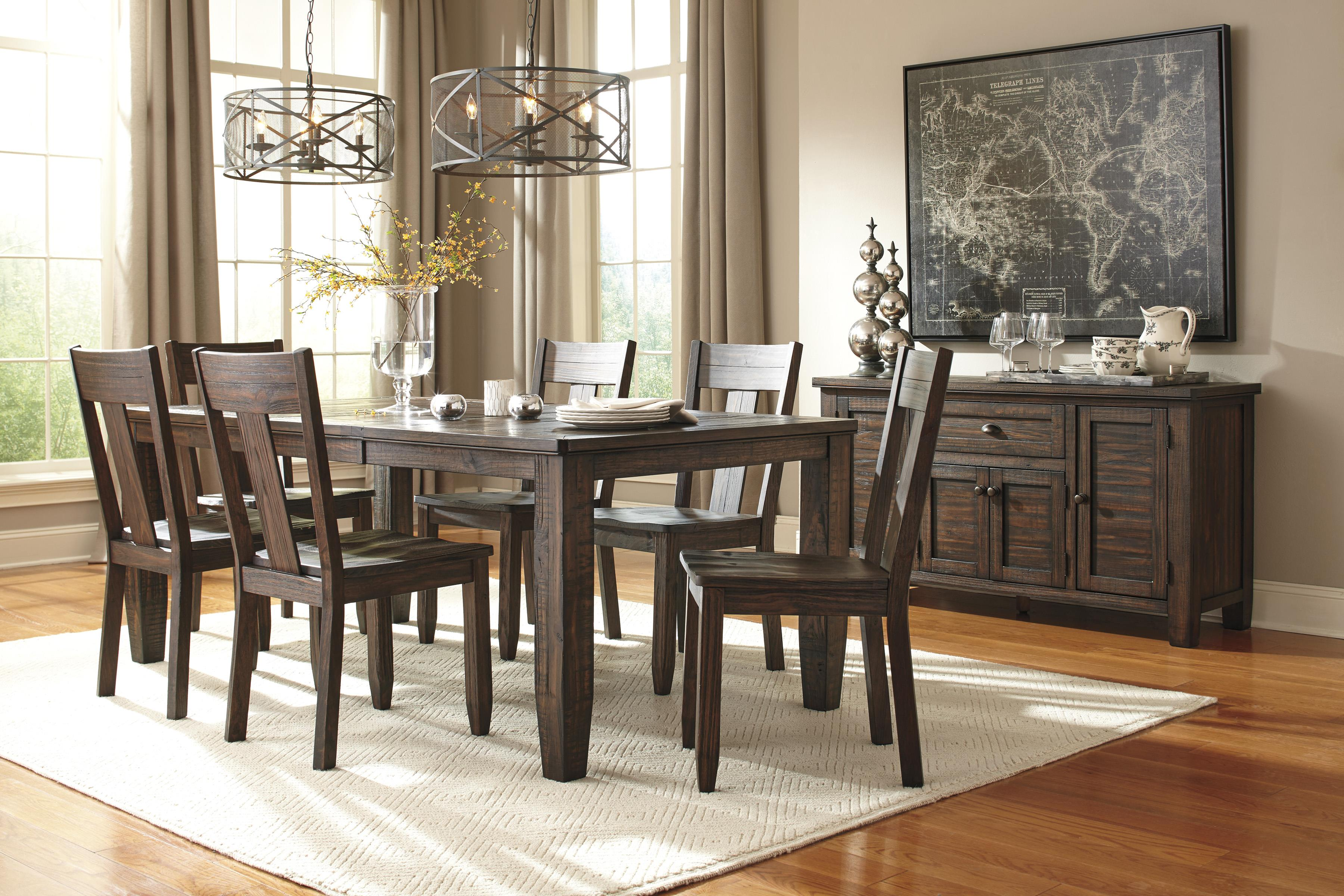 Signature Design by Ashley Trudell Casual Dining Room Group - Item Number: D658 Dining Room Group 6