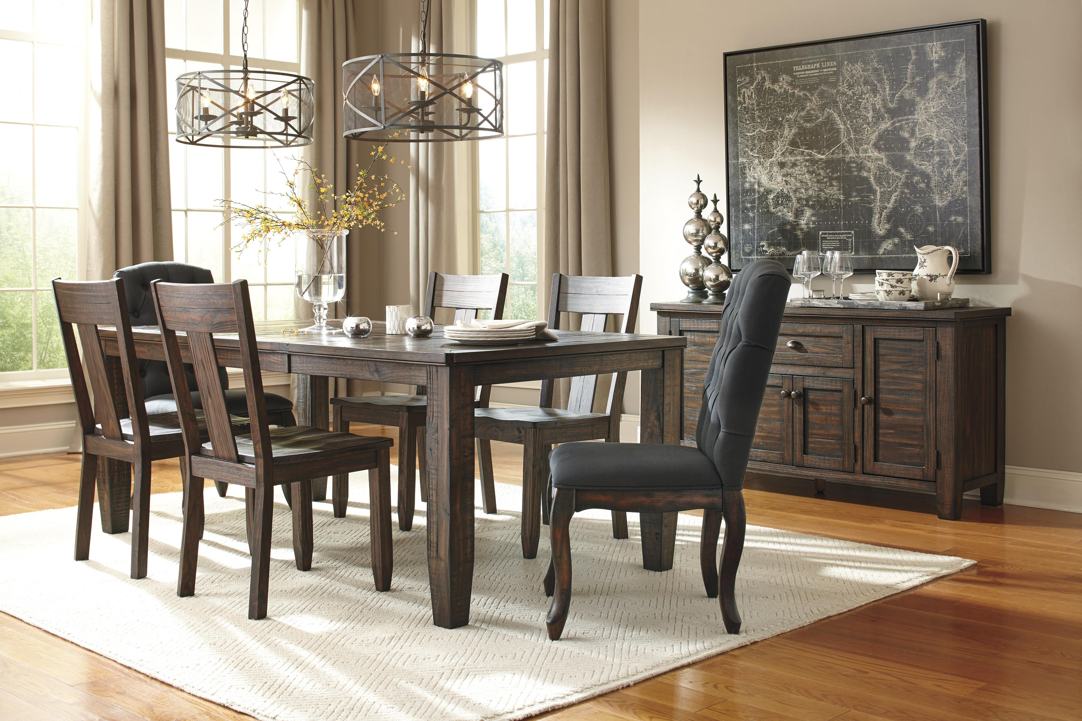 Signature Design by Ashley Trudell Formal Dining Room Group - Item Number: D658 Dining Room Group 8
