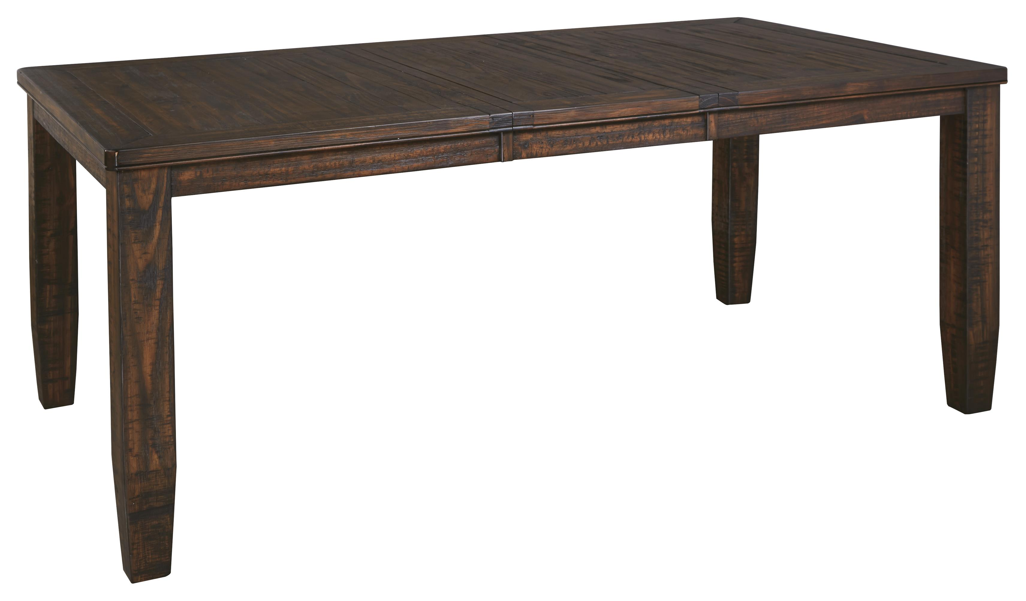Signature design by ashley trudell d658 35 solid wood pine Table extenders dining room