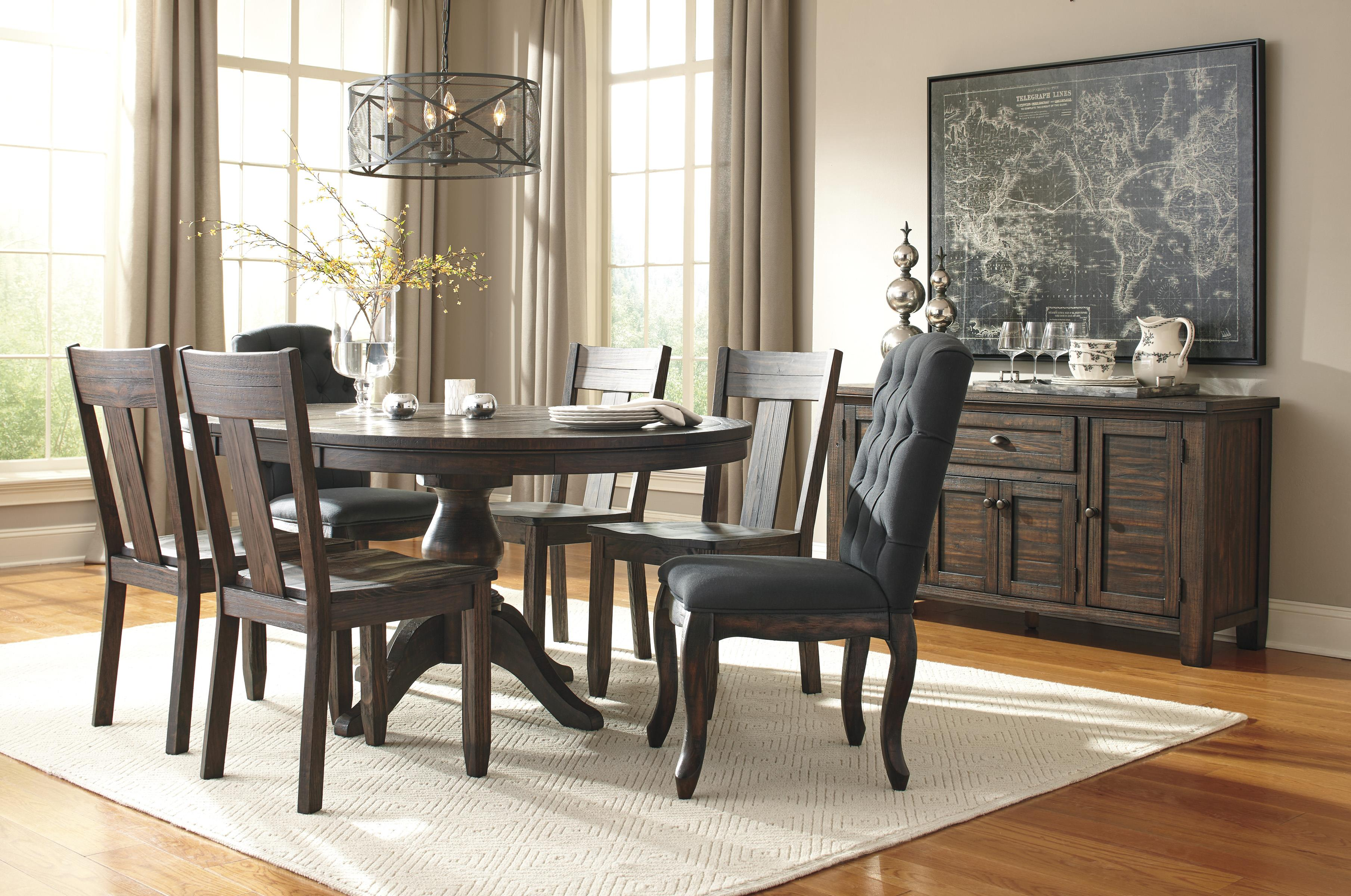 Ashley S Nest Decorating A Dining Room: Signature Design By Ashley Trudell D658-60 Solid Wood Pine
