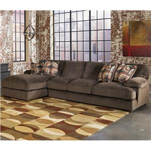 Signature Design by Ashley Furniture Truscotti - Cafe 2-Piece Sectional