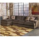 Signature Design by Ashley Furniture Truscotti - Cafe 2-Piece Sectional - Item Number: 8710316+67