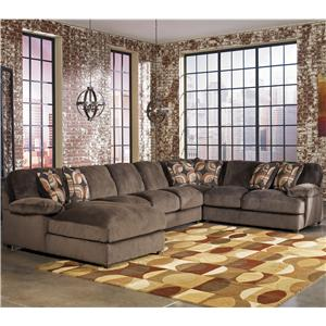 Signature Design by Ashley Truscotti - Cafe 4-Piece Sectional