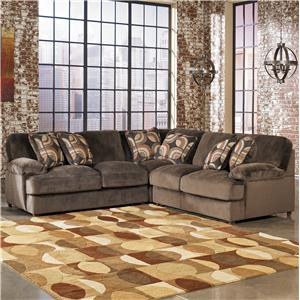 Signature Design by Ashley Truscotti - Cafe 3-Piece Sectional