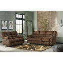 Signature Design by Ashley Tulen Reclining Living Room Group - Item Number: 98605 Living Room Group 1