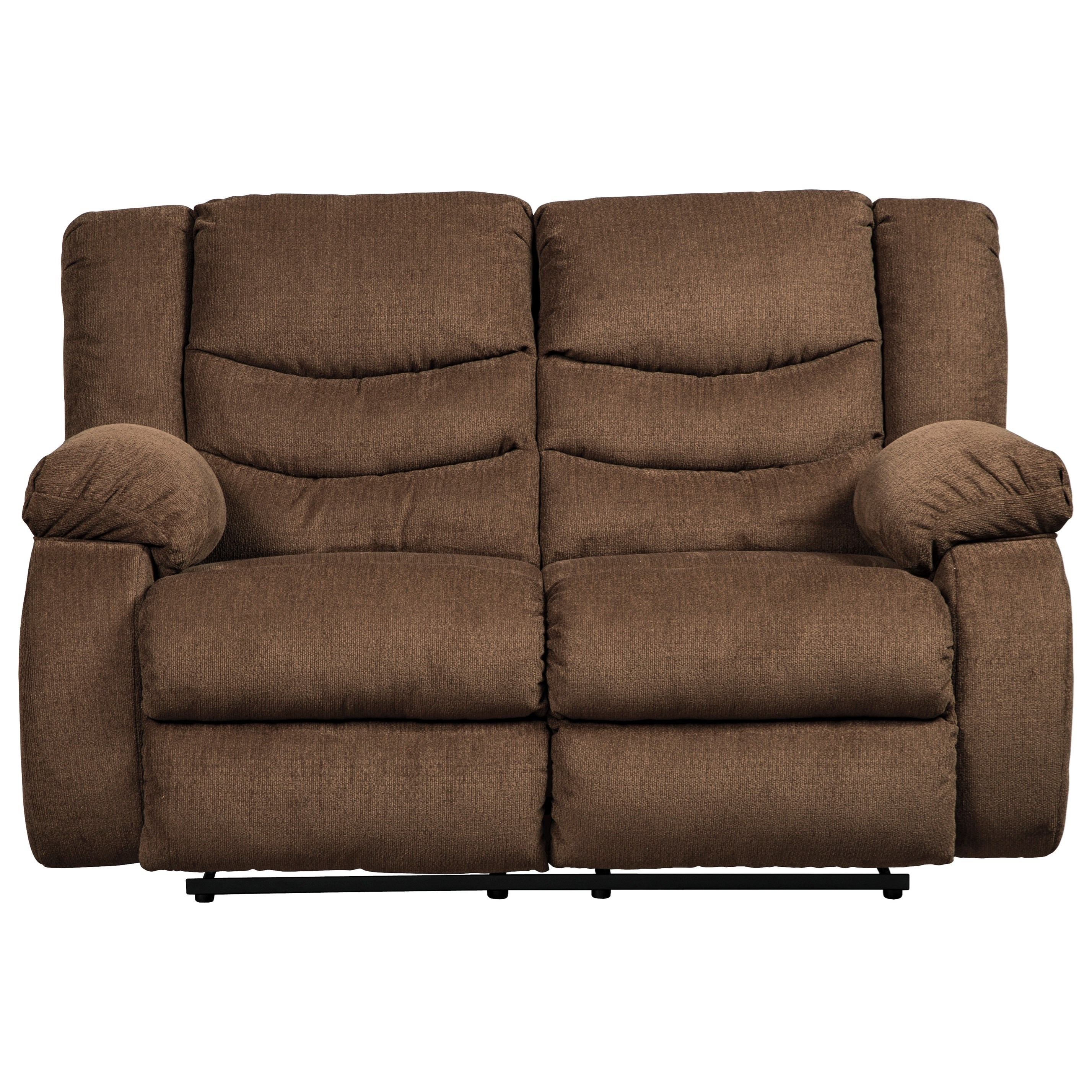 Signature Design By Ashley Tulen Contemporary Reclining Loveseat Rife 39 S Home Furniture
