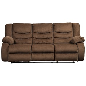 Elegant Signature Design By Ashley Tulen Reclining Sofa