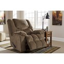 Signature Design by Ashley Turboprop Casual Contemporary Rocker Recliner