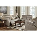 Signature Design by Ashley Uhland Contemporary Power Recliner with Adjustable Headrest